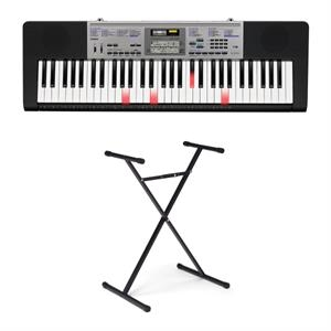 Casio 61 Full Size Lighted Keyboard with Stand
