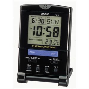Casio Travel Alarm Clock - Thermometer