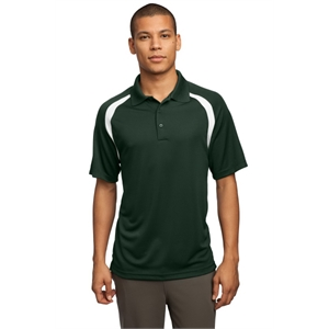 Sport-Tek Dry Zone Colorblock Raglan Polo.