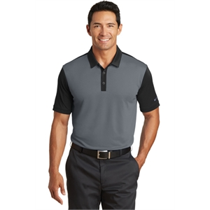 Nike Dri-FIT Colorblock Icon Modern Fit Polo.