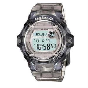 Casio Baby-G Vivid Color Gloss Watch Grey