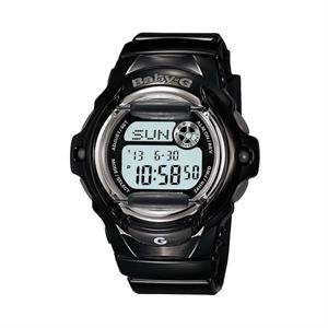 Casio Baby G-Ladies Vivid Color Gloss Watch Black