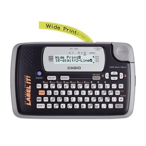 Casio Label Printer with 2 Line LCD Display