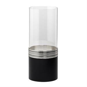 """Wedgwood Vera Wang Noir Hurricane Candle, 11.75\"""""""
