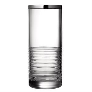 Vera Wang Grosgrain Nouveau Platinum 10in Vase