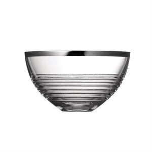 """Vera Wang Grosgrain Nouveau Platinum 8\"""" Bowl"""