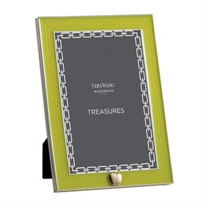 Treasures With Love Lime Green Apple 4x6 Frame
