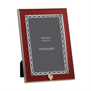 Treasures With Love Red Heart 4x6 Frame
