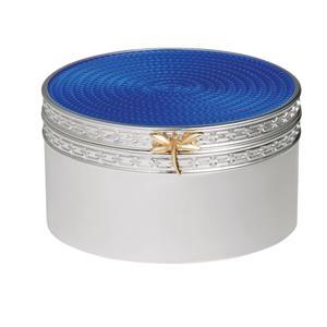 Vera Wang Treasures With Love Blue Dragonfly Treasure Box