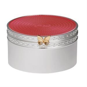 Vera Wang Treasures With Love Pink Butterfly Treasure Box