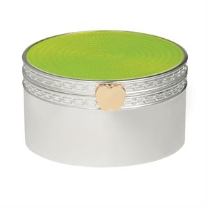 Vera Wang Treasures With Love Lime Green Apple Treasure Box
