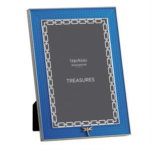 Treasures With Love Blue Dragonfly 4x6 Frame