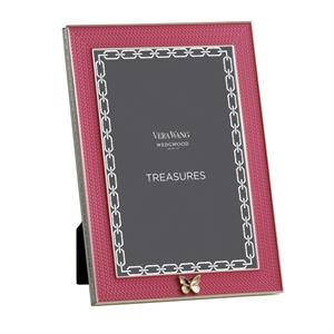 Treasures With Love Pink Butterfly 4x6 Frame
