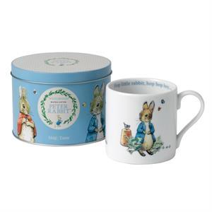 Peter Rabbit Blue Mug In A Tin