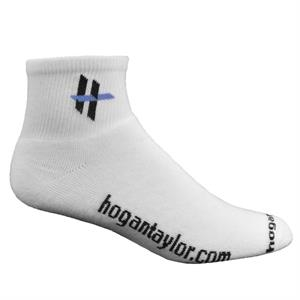 Super Soft Cotton Anklet Sock with Knit-In Logo