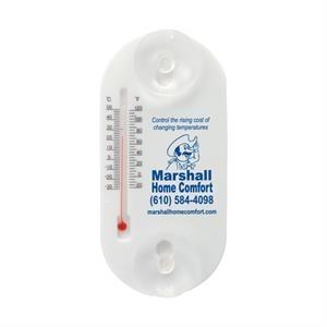 Acrylic Oval Temperature Gauge