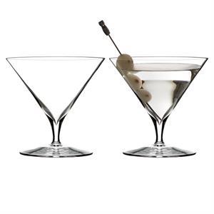 Elegance Martini Glass, Pair
