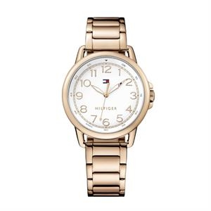 Tommy Hilfiger ladies Ionic Rose Gold Plated Steel Case