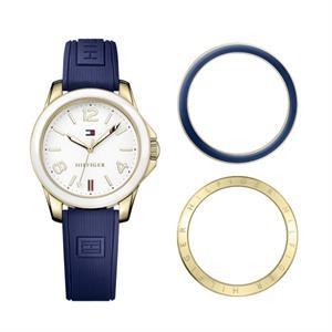 Tommy Hilfiger Ladies Watch with Gold IP Steel Case