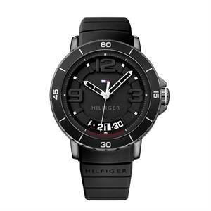 Tommy Hilfiger Men's Black IP Steel Case Watch