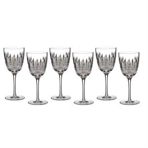 Lismore Diamond Goblet, Set/6