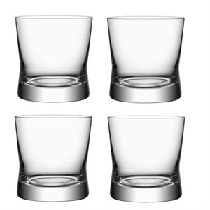 Orrefors More Double Old Fashion set 4