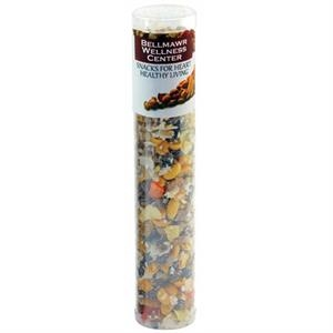 Large Healthy Snack Tube - Nuts, Seeds, Dried Tropical Fruit