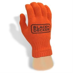Knit Glove with 1-Color Direct Screenprint