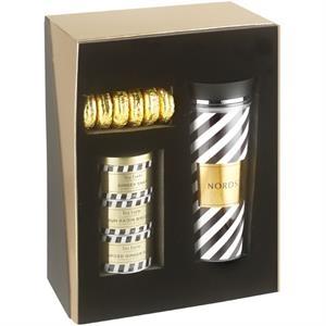 20 oz Double wall Plastic Tumbler Diego Tea Gift Set w/oreos
