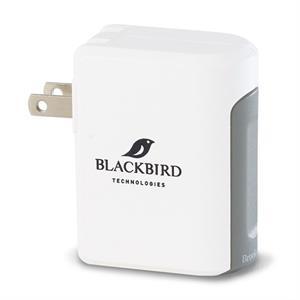 Brookstone(R) Optima Dual USB Wall Charger