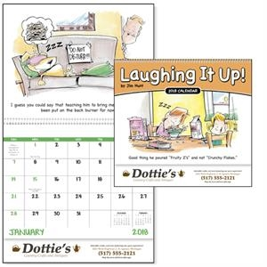 Spiral Laughing It Up! Calendar