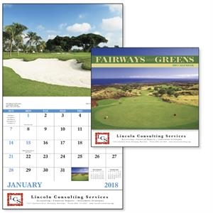 Stapled Fairways & Greens Lifestyle Appointment Calendar