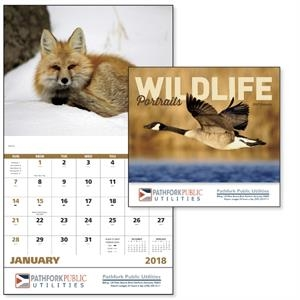 Stapled Wildlife Portraits Appointment Calendar