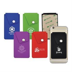 Silicone Snap Pocket Wallet