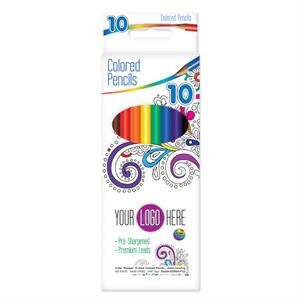 Color Therapy 10 Pack Colored Pencils - Adult Coloring