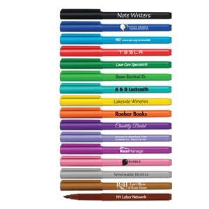 Note Writer Fine Tip Fiber Point Pen - USA Made