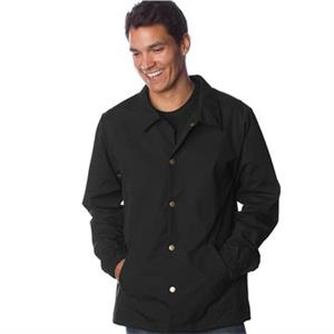 Independent Trading Co. Water-Resistant Windbreaker Coach...
