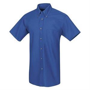 Red Kap Poplin Short Sleeve Dress Shirt