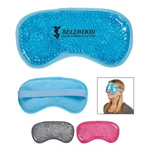 Eye Mask Plush Gel Pack With Beads - Hot Cold Pack
