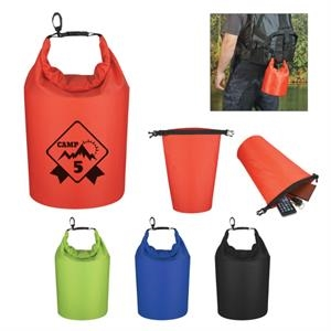 Waterproof Dry Ripstop Polyester Bag With PVC Backing