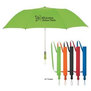 "58\"" Arc Telescopic Folding Umbrella"