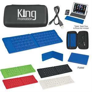 Folding Wireless Keyboard With Case