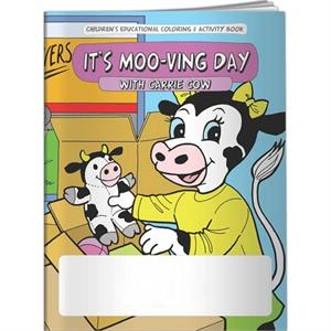 Coloring Book - It's Moo-ving Day
