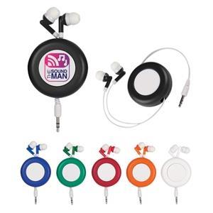 Retro Retractable Earbuds