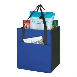 Non-Woven Shopper's Pocket Tote Bag