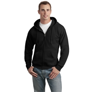 Hanes - EcoSmart Full-Zip Hooded Sweatshirt.