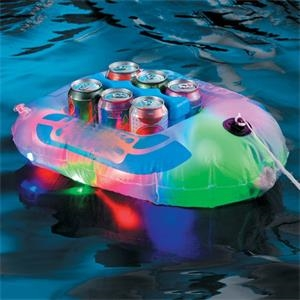 LED drink cooler