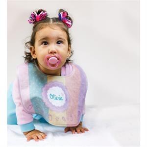 Subli-Plush Baby Bib