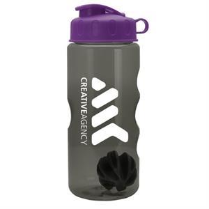 22 Oz. Tritan Mini Shaker Bottle with Flip Lid