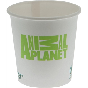 4 oz  Eco-Friendly Paper Cup - White - Tradition